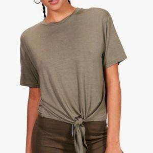 Boohoo Basic Tie Front T-Shirt Bundle